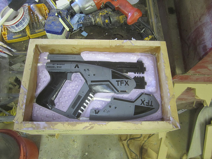 M-3 Pistol Mold Second Half2462