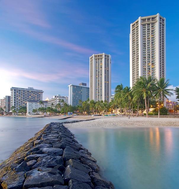 ハイアット リージェンシー ワイキキ ビーチ リゾート アンド スパに宿泊するオアフ島ツアー(ANA直行便)
