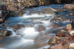 The Grudie (Brian D 1960) Tags: uk colour nature water river outdoors scotland highlands fishing nikon scenery rocks exposure slow heather north glen rapids land torridon westerross ecosse scottishhighlands d700