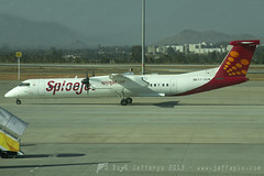 VT-SUM Q400 SpiceJet (JaffaPix +4 million views-thanks...) Tags: airplane flying aircraft aviation flight aeroplane airline airliner turboprop dash8 bombardier spicejet q400 blr bangaloreairport dash8q400 vobl jaffapix vtsum davejefferys