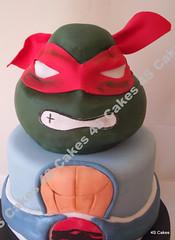 Ninja Turtle Head Cake 3d Ninja Turtle Head Cake 4s