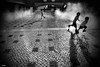 Wet Games (Rui Palha) Tags: street people bw interestingness6 streetmoments ruipalha