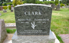 lake view (seattle, wa) (DeadManTalking) Tags: seattle cemetery washington epitaph kingcounty lakeviewcemetery franklinclark deadmantalking florenceclark