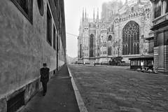 Strolling in Milan (mauri.konse) Tags: milano milan milanostreet monocromo duomo cathedral nikond600 nikon strolling