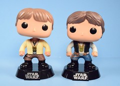 Funko Pop! Luke Skywalker [Ceremony] and Han Solo [Ceremony] bobble-heads (2016 Galactic Convention Exclusives) (FranMoff) Tags: starwars hansolo funkopop lukeskywalker funko bobbleheads awardceremony