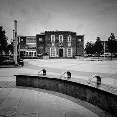 Civic Hall - Ellesmere Port (S Howlett) Tags: thebeatles beatleslive hasselblad500c mediumformat blackandwhitephotography monochromephotography civichall ellesmereport kodaktmax100 blackandwhite simonhowlettphotography