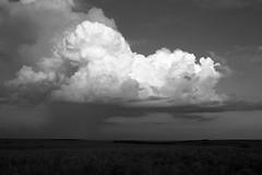 Rain Cloud (Photographs By Wade) Tags: osagecounty oklahoma tallgrassprairiepreserve cloud rain plains sky evening