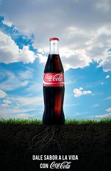 Composicin - Coca Cola (Dexo Studios) Tags: cocacola nature natural sky sunset dirth photoshop art digitalart mattepainting manipulation