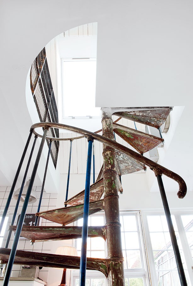 spiral staircase, hemma_hos_Marie_Olsson_Nylander_9