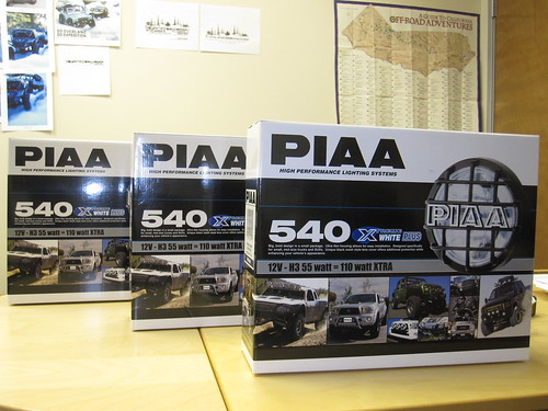 PIAA 540 Xtreme White Plus Lighting System for AWCC 2011