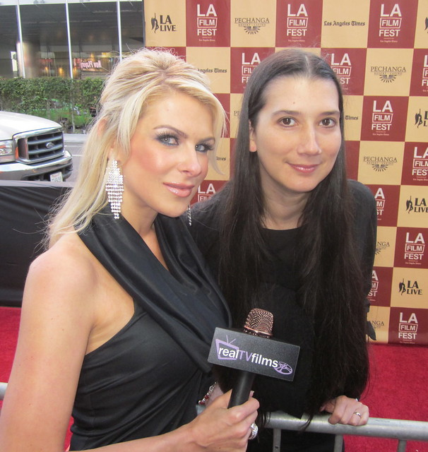 "Jennifer Lexon, Rosario Garcia-Montero, Director, Writer, ""The Bad Intentions"",Bernie Movie Premiere, Opening Night LA Film Festival 2011"