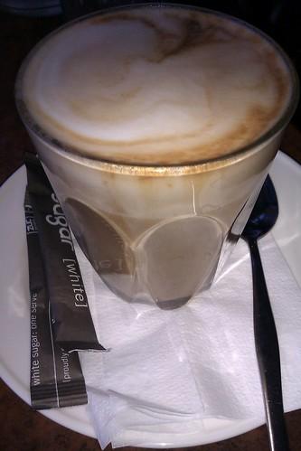 Gus's soy latte