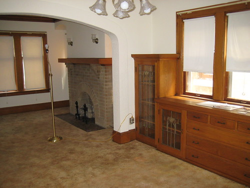 interior of Milwaukee bungalow
