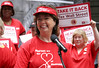 National Nurses Director RoseAnn DeMoro, Makes Most Influential Healthcare List 10 Straight Years