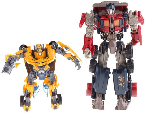 Transformers Autobots Optimus Prime Bumblebee Movie Action Figure Transformable Toy From Pandawill