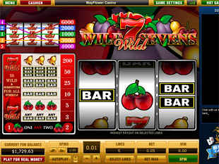 Wild Sevens 5 Lines slot game online review
