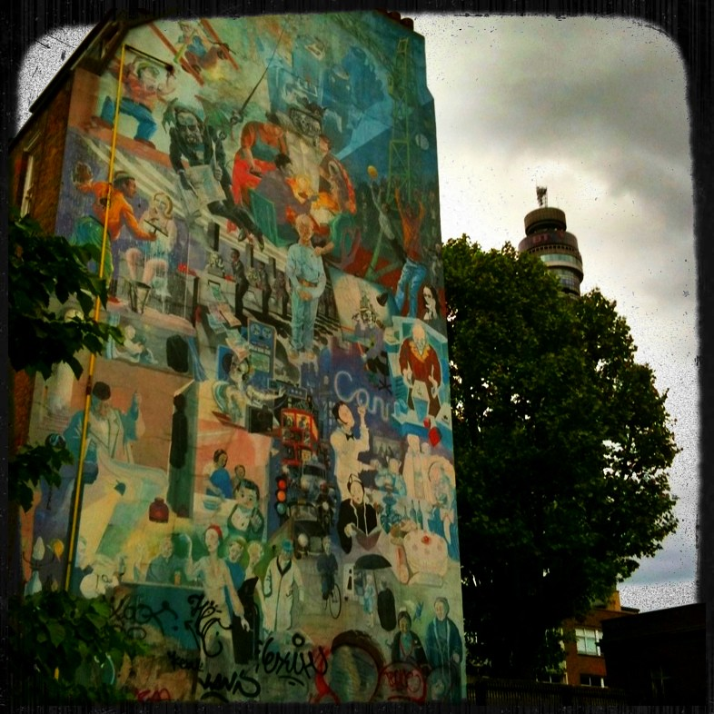 Fitzrovia Mural