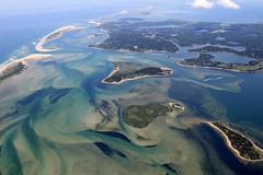 Pleasant Bay Aerial - Cape Cod (Chris Seufert) Tags: beach orleans capecod aerial chatham harwich aerials shoals pleasantbay