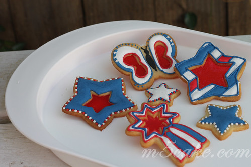 Independence Day cookies - 3