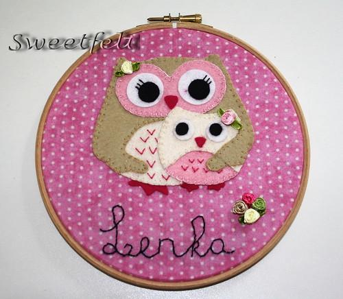 ♥♥♥ Lenka... by sweetfelt \ ideias em feltro