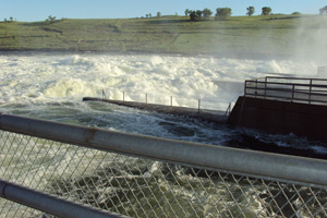 Emergency spillway