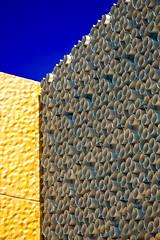 Fait d'Or et D'argent (Neu7rinos) Tags: urban architecture facade photo construction lyon bleu ciel samuel industrie ville confluence beton immeuble ligne verre vitre flcikr gometrie samshoot neu7rinos