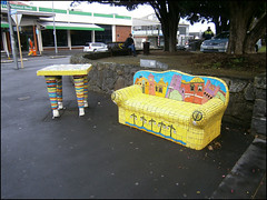 Street art in Onehunga