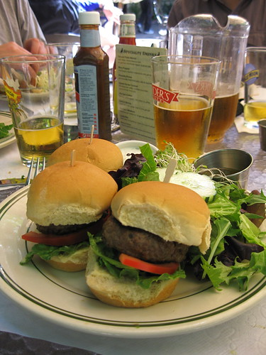 Mediterranean Sliders & Beer