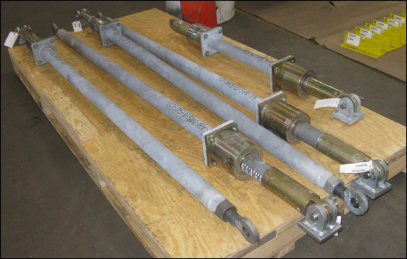 Mechanical Snubber Assemblies Custom Designed for an Oil Refinery
