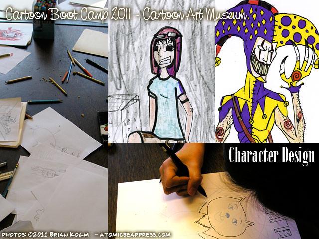 Cartoon Boot Camp 2011 - Character Design