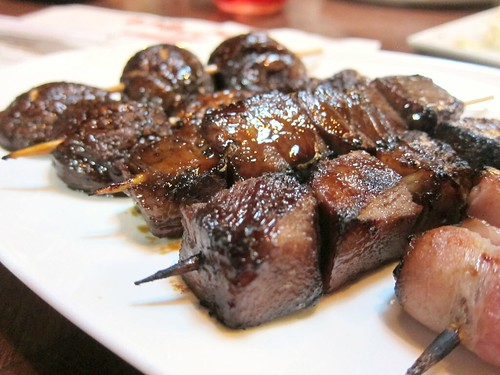 Beef Tongue Skewer