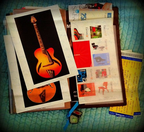 A peek inside my Midori Traveler's Notebook