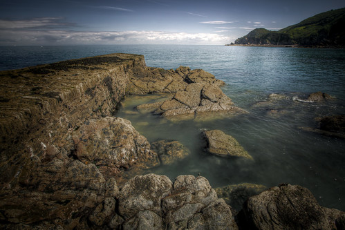 489/1000 - Woody Bay Jetty 1 by Mark Carline