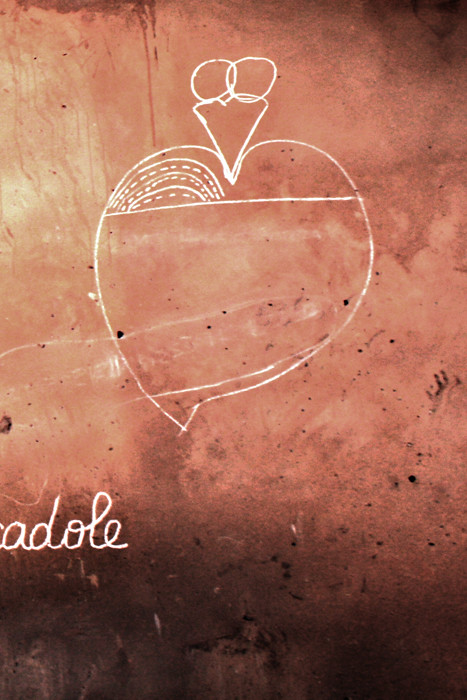 CHALKHEART. Inspired by Remed. Done by Mohamed. GAMBIA 2011