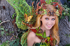 Eden ~ The Green Fairy (Alexandria LaNier) Tags: beautiful fairytale costume wings designer fairy fantasy comiccon fairycourt alexandrialanier