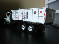 First Gear Recycle America Roll-Off Truck (Thrash 'N' Trash Prodcutions) Tags: scale trash america truck garbage first gear off replica management granite roll waste refuse custom recycle recycling mack decals 134 diecast rolloff