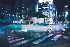(skidu) Tags: japan canon reflections lights tokyo long exposure angle shibuya wide 1116