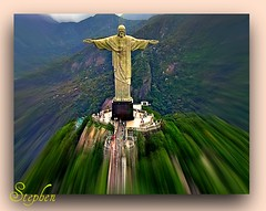 ~ Christ The Redeemer Rio Brazil ~ (stephgum32807) Tags: brazil happyeaster froheostern cristodecorcovado wesołychświąt ríodejaneiro felizpáscoa vrolijkpasen joyeusespâques ¡felicespascuas mygearandme šťastnévelikonoce