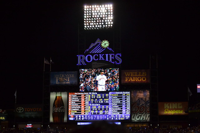 Rockies vs Giants