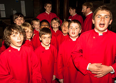 Hungry and thirsty choristers (cathedralchoir) Tags: