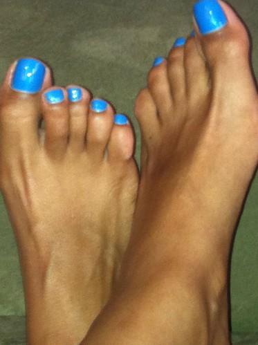 Ebony redbone feet