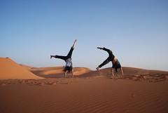 Vacation cartwheels