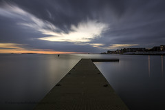 """Sunset on the Boardwalk West Kirby"" (Ray Mcbride Photography) Tags: sunset westkirby boatinglake 10stopfilter"