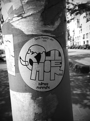 St.Pauli - Stickers (chicitoloco) Tags: streetart streets graffiti sticker hamburg stickers stpauli reeperbahn chicitoloco
