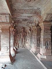 Temple troglodytique jaïn (Badami, Inde)