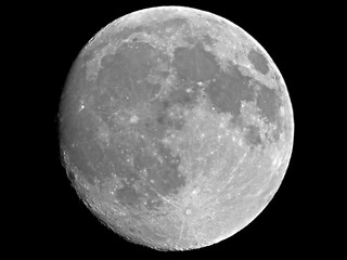 Waxing Gibbous Moon - May 12, 2014