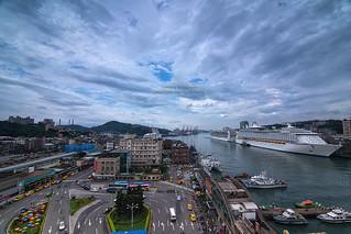 豪華郵輪日。基隆港 Keelung Port, Taiwan _IMG_6492