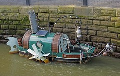 Sea Song Sang (RoystonVasey) Tags: canon river newcastle tyne powershot tyneside upon hs byker ouseburn sx260