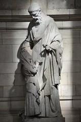Arras (Pas-de-Calais) - Cathdrale Notre-Dame-et-Saint-Vaast - Statue de bas-cot (Morio60) Tags: notredame cathdrale nordpasdecalais 62 arras pasdecalais saintvaast