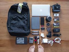camera wood newzealand stilllife bag lens foot toe floor... (Photo: HurrySlowly on Flickr)